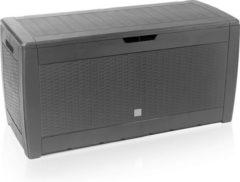 Urban Living - Rotan Opslagbox 119x48x60cm - Grijs