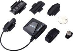 Zwarte BBB cycling BBB BCP-61DB BlueCombo+ Snelheidssensor en Cadanssensor - Bluetooth 4.0/ANT+ compatibel