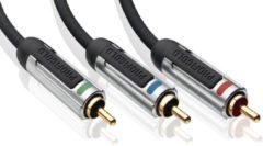 Zilveren Profigold PROV3307 audio-/videokabel