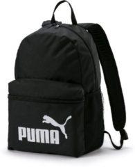 Zwarte PUMA PUMA Phase Backpack Rugzak Unisex - Puma Black