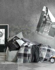 Zwarte Cotton Box - Ranforce Ramos - Dekbedovertrekset (100% Katoen) - 240X220