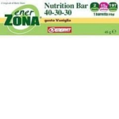 Enerzona Nutrition Bar 40-30-30 Barretta Vaniglia 48g