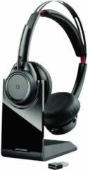 Plantronics UC B825M Telefoonheadset Bluetooth Draadloos On Ear Zwart