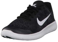 Laufschuhe Free RN 2 (GS) mit Tri-Star-Flexkerben 904255-400 Nike Black/White-Dark Grey-Anthracite