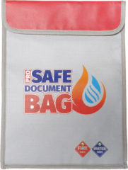 Rode Pro Safe Document Bag - Brandbestendige en waterbestendige zak - XL 38 x 28 cm - Waterkluis - vuurbestendige zak