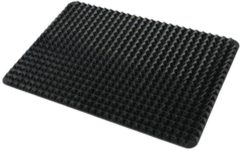 GOURMETmaxx Diät Silikon Backmatte, schwarz