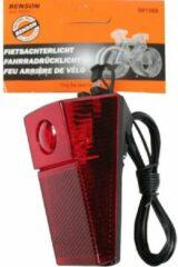 Rode K-parts Fiets Achterlicht Standaard