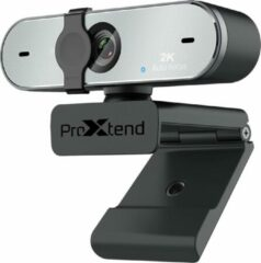 Zilveren ProXtend XSTREAM 2K webcam 4 MP 2592 x 1520 Pixels