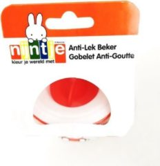 Nijntje/Miffy Nijntje Antilekbeker - Beker - 360 graden - Met handvaten - Miffy - 6+ maanden - Oranje
