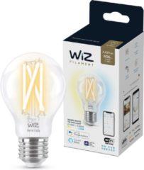 WiZ Filamentlamp - Slimme LED-Verlichting - Warm- tot Koelwit Licht - E27 - 60 W - Transparant - Wi-Fi