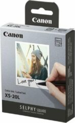 Witte Canon SELPHY Square - Inkt-/papierset - XS-20L