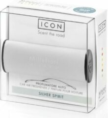 Licht-grijze Millefiori Milano Auto Parfum Silver Spirit (classic)