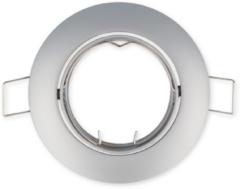 LEDline Inbouwspot, Rond, Aluminium, Kantelbaar, Mat Grijs