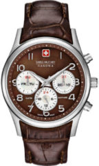Zilveren Swiss Military Hanowa - Swiss Made - dameshorloge Navalus Multifunction 06-6278.04.005
