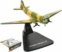Edition atlas Douglas DAKOTA C-47 U.S. ARMY AIR FORCE - VLIEGTUIG MINIATUUR 1:144