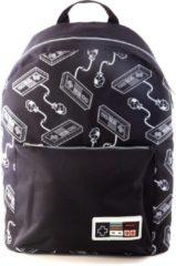 Zwarte Nintendo - NES Controller All-Over Print Backpack MERCHANDISE