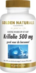 Golden Naturals Krillolie 500 mg (60 softgel capsules)