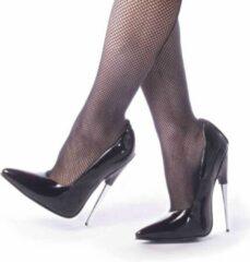 Devious Hoge hakken, Paaldans schoenen -42 Shoes- SCREAM-01 Paaldans schoenen Zwart