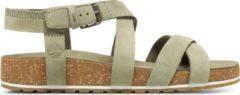 Timberland - Women's Malibu Waves Ankle Strap Sandal - Sandalen maat 7, beige/bruin