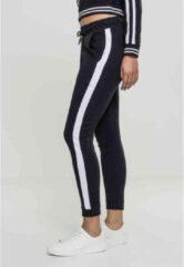 Urban Classics Dames jogging broek -XS- Interlock Zwart/Wit