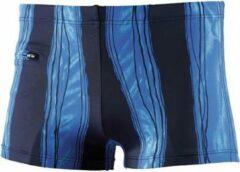 Beco Zwemboxer Heren Polyamide Blauw/zwart Maat 6xl
