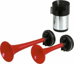 Rode Carpoint Luchthoorn 12v 2 hoorns met compressor - 1 geluid 117DB