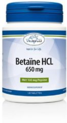 Vitakruid Betaine Hcl 650 Mg & Pepsine 160 Mg Trio (3x 120tb)