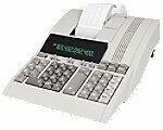 Witte Olympia CPD5212 euro-cost-sell-margin Buro rekenmachine met printer