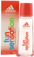 Adidas Eau De Toilette Spray Woman Fun Sensation - 50ml