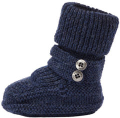 NAME IT Baby Knitted Wool Slippers Men Blue