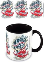 HARRY POTTER - Coloured Inner Mug - Hogwarts Express Black