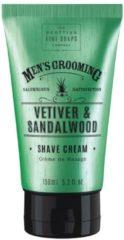The Scottish Fine Soaps Company Vetiver & Sandalwood Scheercrème 150 ml
