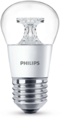 Creme witte Philips Led kogel 4w/25w/827 E27 helder warm wit