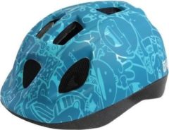 QT Cycle Tech Fietshelm Happy Junior Blauw Maat (46-53cm)