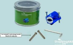 Shopping4All - Magnetische waterontharder - Waterontharder waterleiding - Waterontharder magneet - Waterontharder - Waterontkalker - Waterverzachter - 7.800 Gauss - Blauw