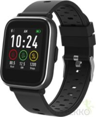 Denver SW-161 / Smartwatch / Touchscreen sportwatch met hartslagmeter / Social activity / iOS & Android / Fitbit / Zwart