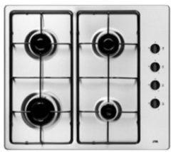 Roestvrijstalen Etna T106VRVSF inbouw gaskookplaat geschikt voor butaan of propaan