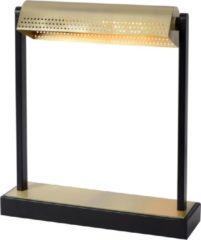 Gouden Lucide LAUT Bureaulamp - 1xE27 - 3 StepDim - Zwart