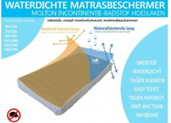 Bedden4045 Matras beschermer Molton – 90X200 Cm - Wit