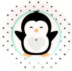 Witte Ootje Kadootje OK 8304 Borden Gender reveal Hello Lovely Pinguin