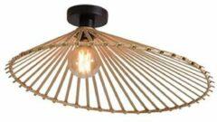 Bruine GOOD&MOJO Good & Mojo Plafondlamp - BROMO - Bamboe - Product Met gloeilamp: Nee / Product Grootte: Large (60 x 13cm)
