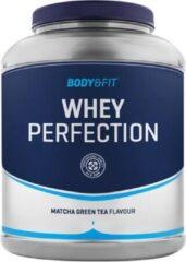 Body & Fit Whey Perfection - Whey Protein / Proteine Shake - Matcha groen Tea - 2270 gram (81 shakes)