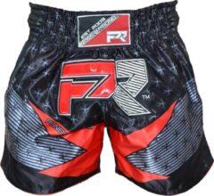 Punch Round™ Punch Round Evoke Kickboks Broek Zwart Rood L = Jeans Maat 34