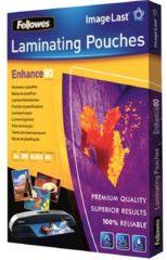 Transparante Fellowes lamineerhoezen Imagelast A4 80 Micron, pak van 100 stuks