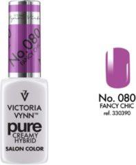 Paarse Gellak Victoria Vynn™ Gel Nagellak - Gel Polish - Pure Creamy Hybrid - 8 ml - Fancy Chic - 080