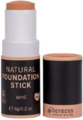 Zandkleurige Benecos Natural Foundation Stick Sand