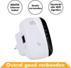 Witte Merkloos / Sans marque Wifi Repeater 300 MBPS Draadloos - Internet Versterker Stopcontact - Router - Extender Kopen Stopcontact Buiten 5G Wireless Adapter USB Draadloze - Modem - Voor PC – Voor o.a. Windows 10 & Macbook - Access point - Mesh - Bridg
