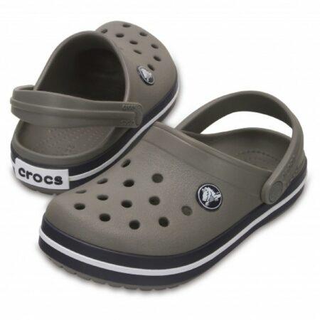 Afbeelding van Crocs - Kid's Crocband Clog - Outdoor sandalen maat C5 grijs