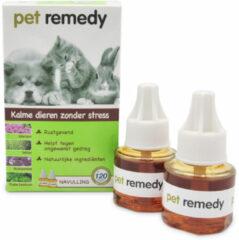 Pet Remedy Verdamper Navulling - Dierenantistressmiddel - 2 x 40 ml