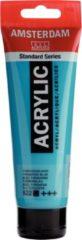 Royal Talens Amsterdam Standard acrylverf tube 120ml - 522 - Turkooisblauw - dekkend